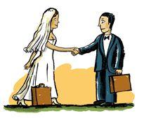 заключение брачного договора супругов, суть и образец брачного договора, право на брачный договор