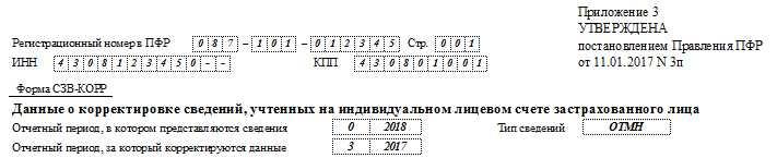 сзв-корр шапка